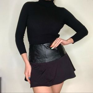 GUESS Leather/ cotton Skirt